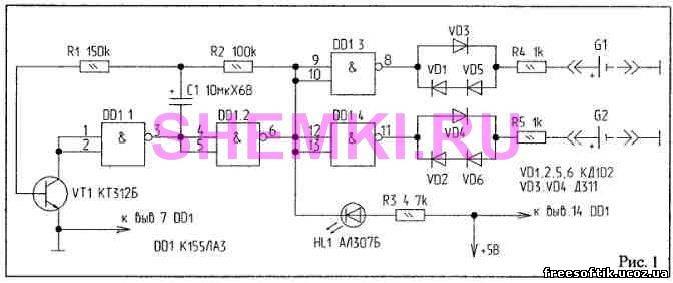 Восстановление производится асимметричным зарядно-разрядным током, а именно: ток заряда (Iз) .