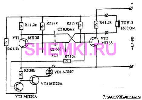 В результате изготовил пробник-испытатель - устройство, которое производит проверку работоспособности конденсаторов...